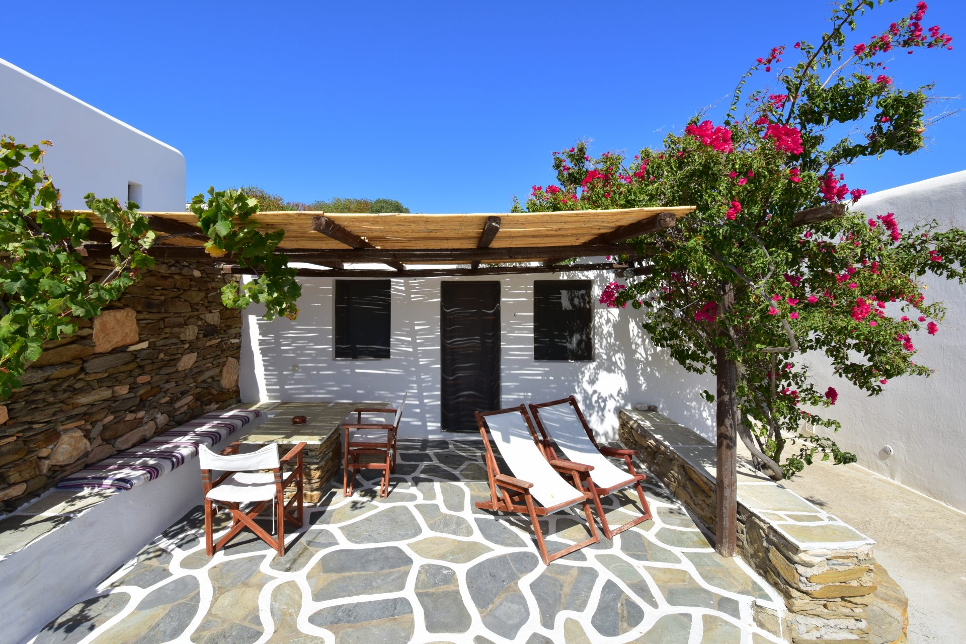 ios greece accommodation airbnb